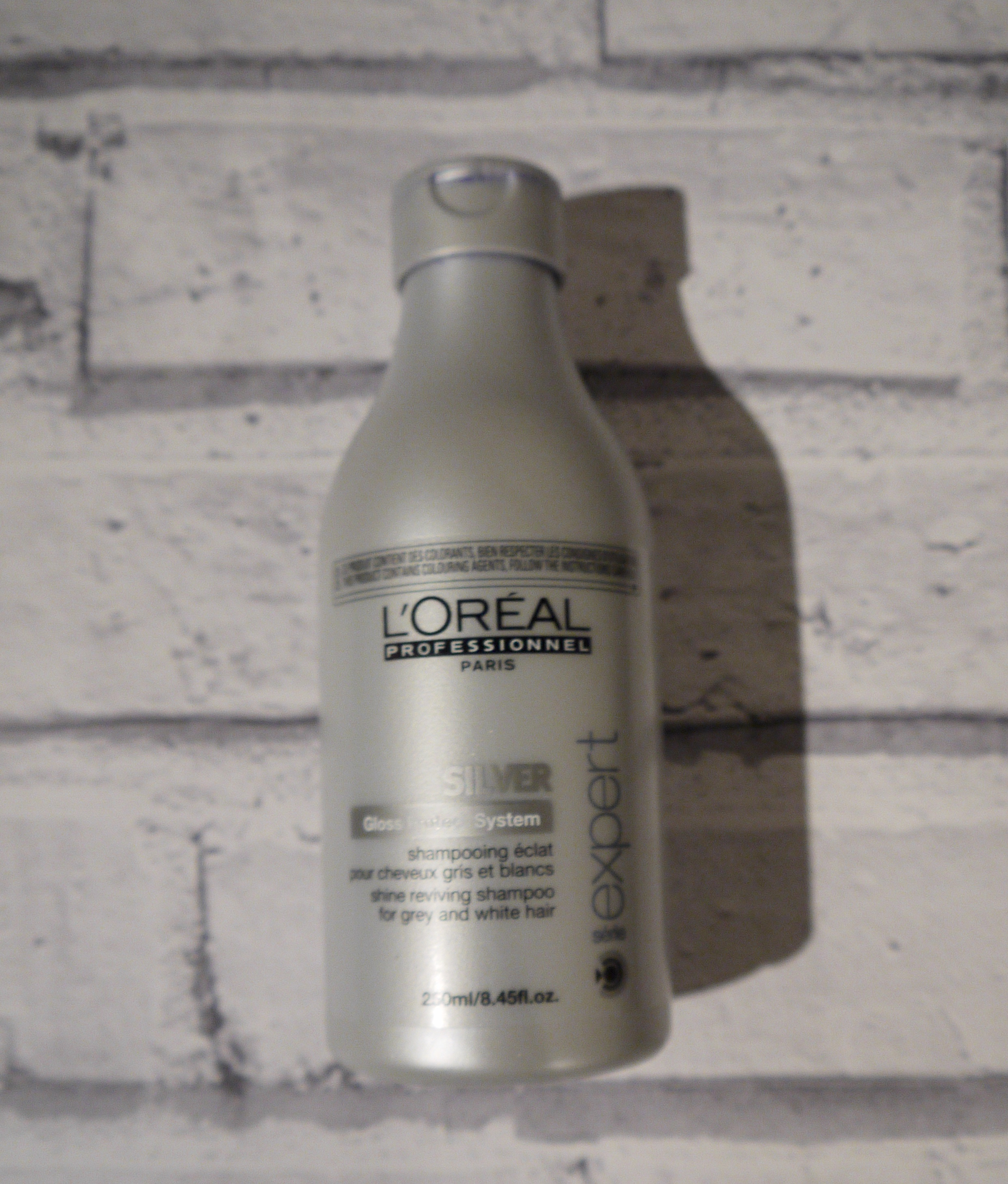 boreal silver shampoo, grey hair review