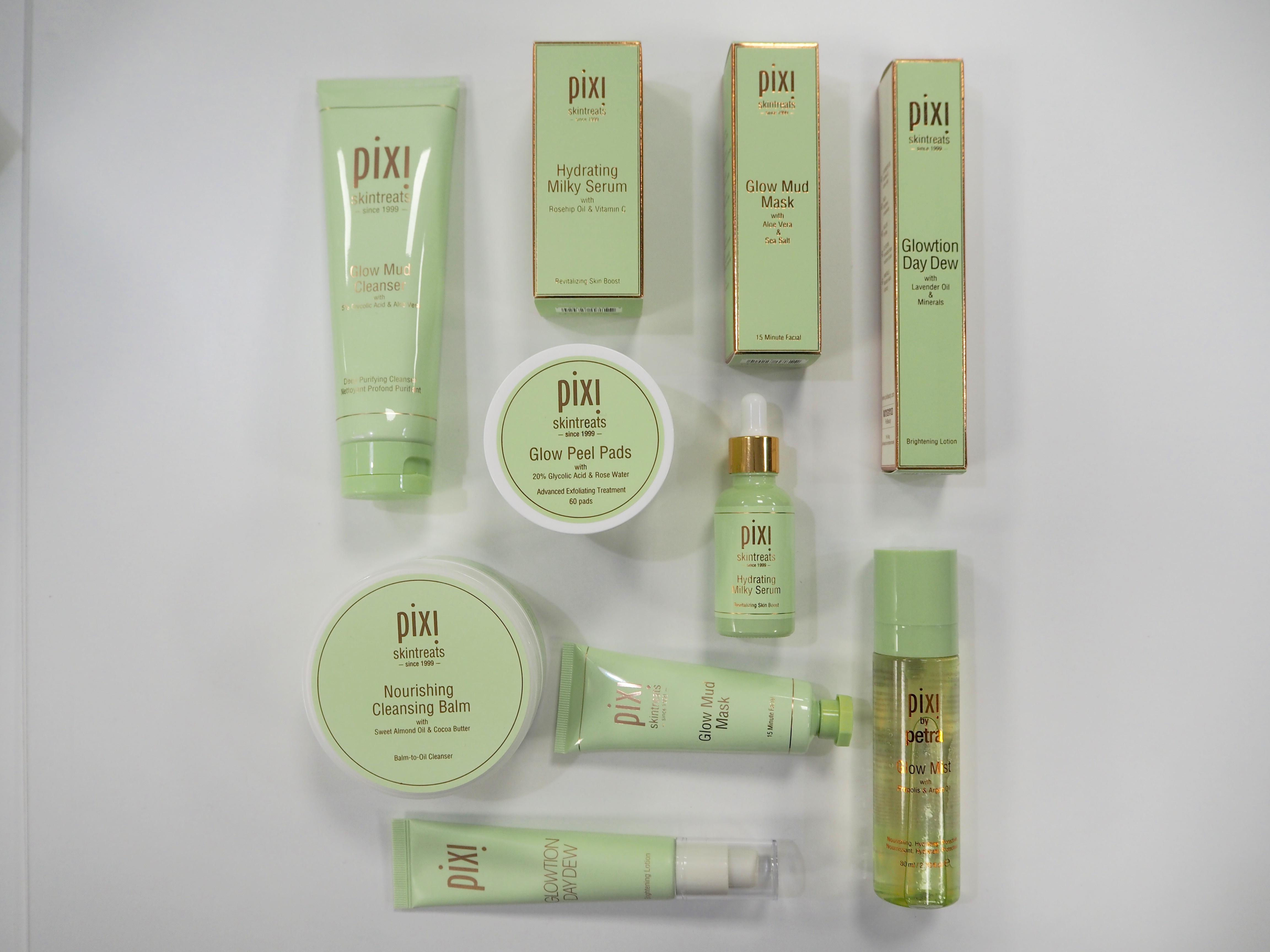 pixi beauty, beauty blogger, new year new skin, skin care, laura byrnes, lauras little locket