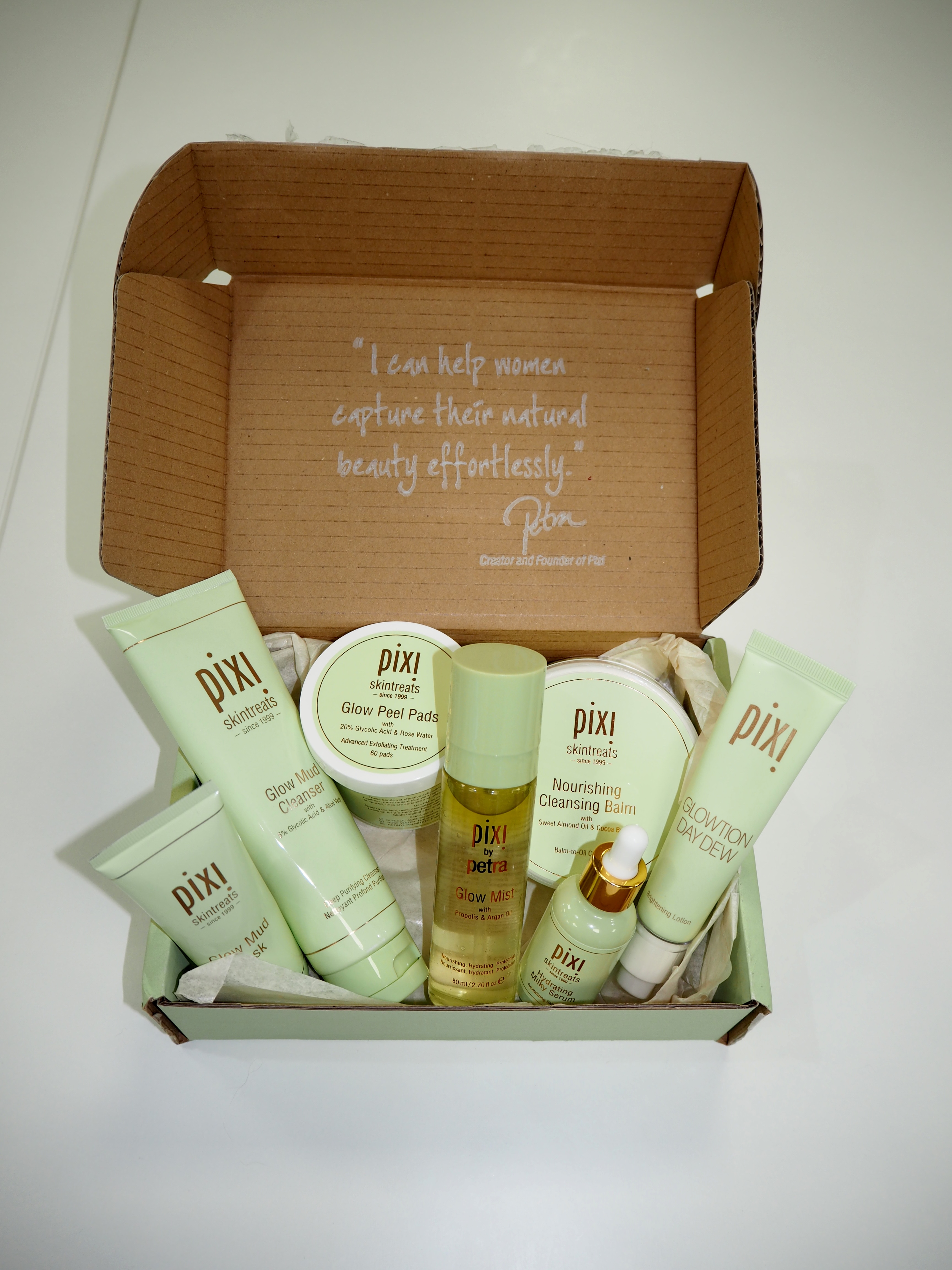 pixi beauty, beauty blogger, new year new skin, skin care, laura byrnes, lauras little locket