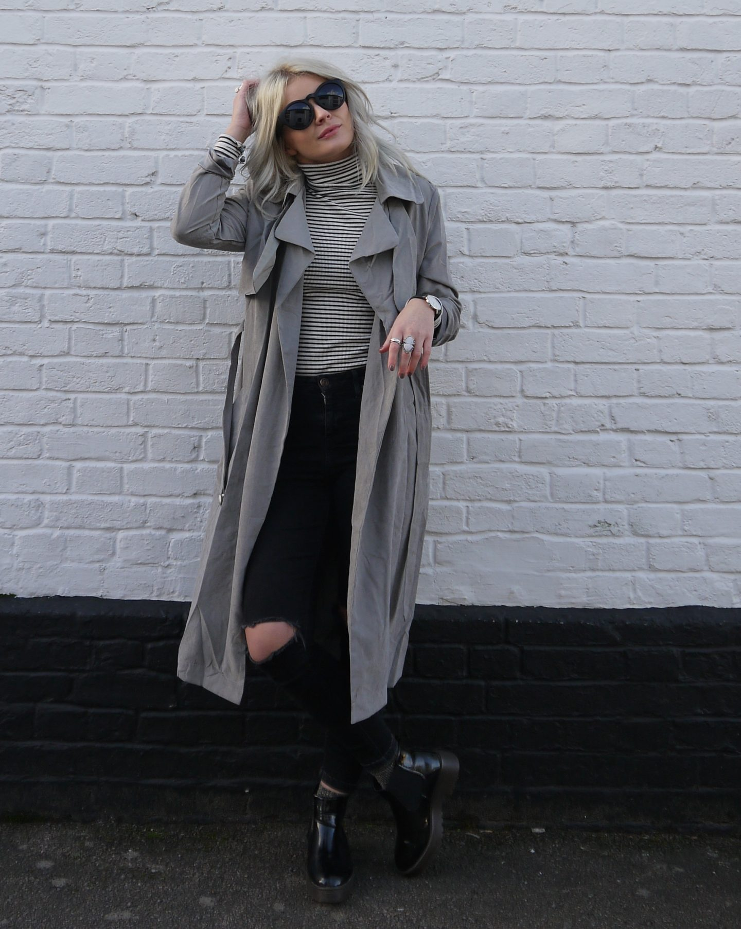 STYLE // TRENCH STRIPES