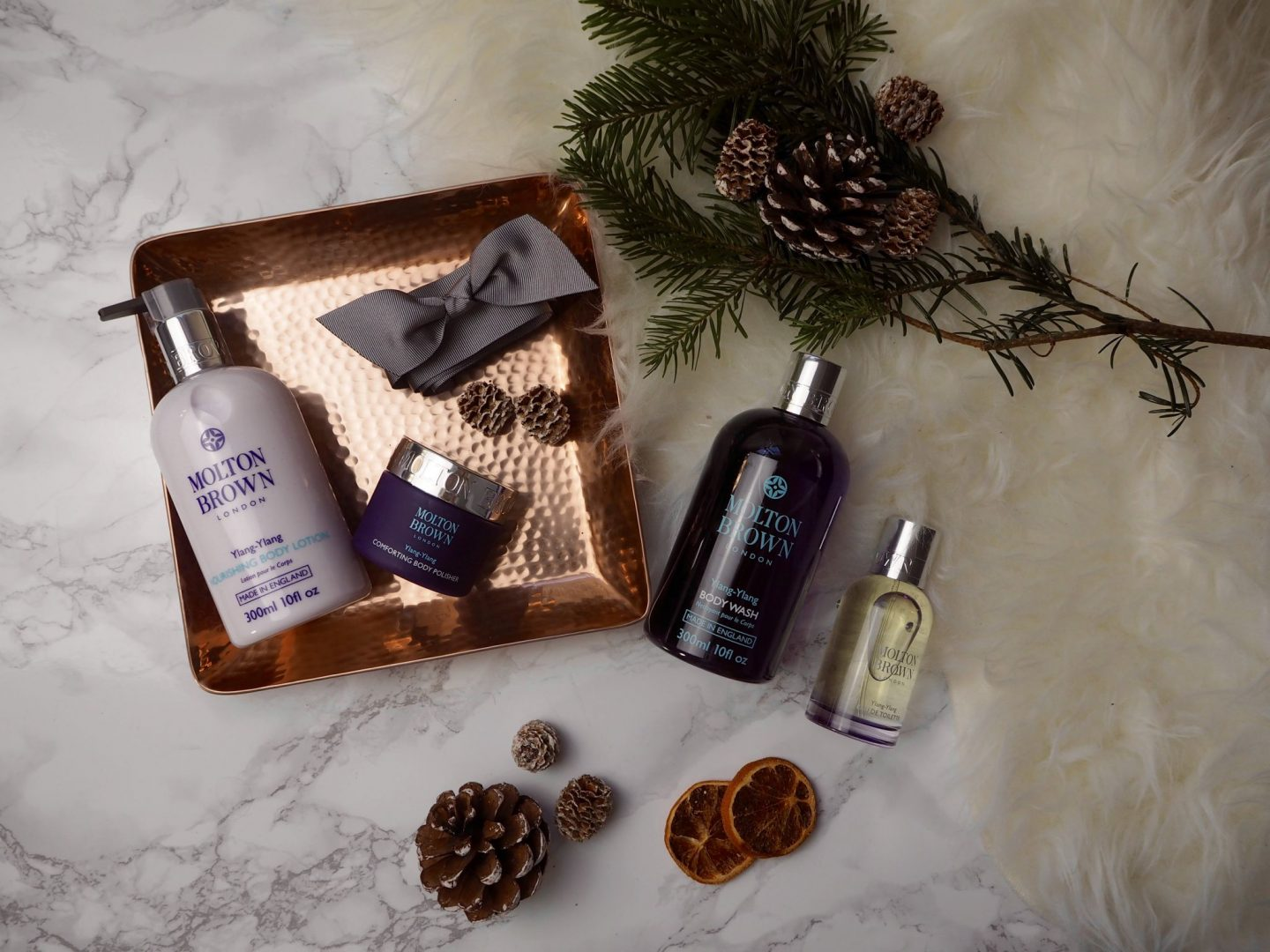 BEAUTY // LUXURY GIFTING WITH MOLTON BROWN