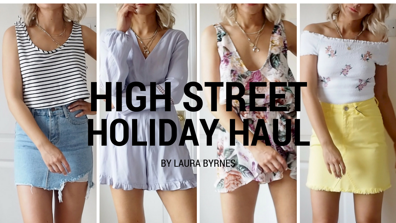 HIGH STREET HOLIDAY HAUL VIDEO