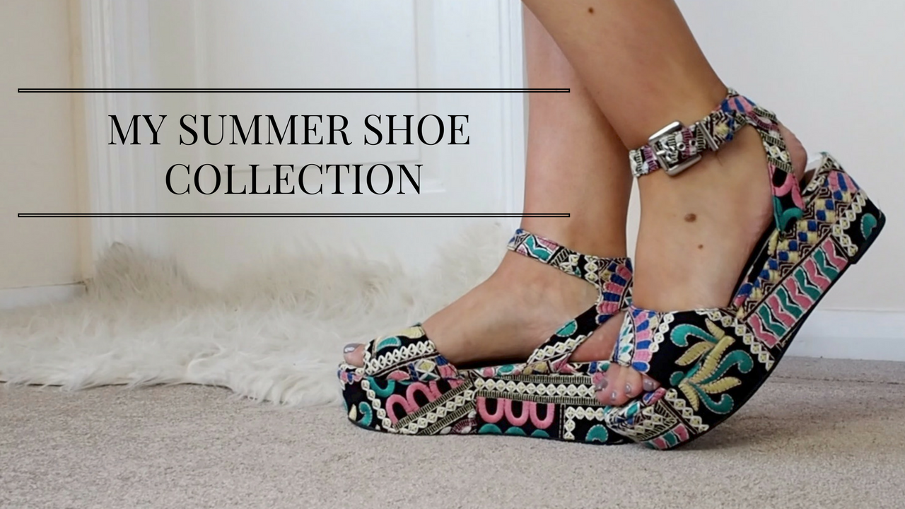 MY SUMMER SHOE COLLECTION